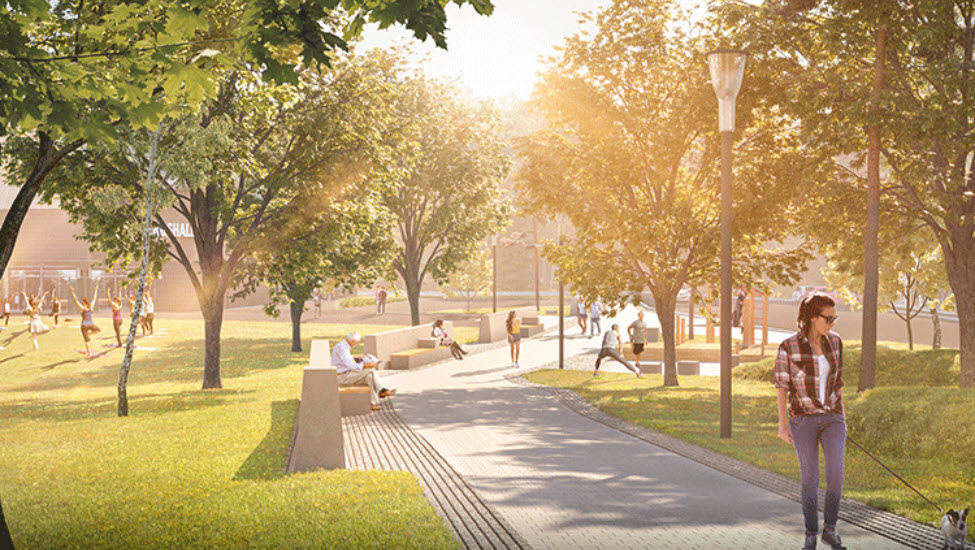 A green district for a sustainable future